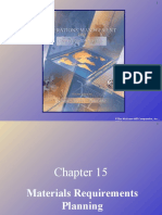 Ch15(MaterialRequirements Planning)