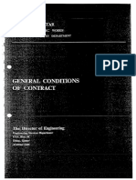General Conditions of Contract - PWA