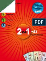 2za1.si – knjiga kuponov ugodnosti »2 za ceno 1«