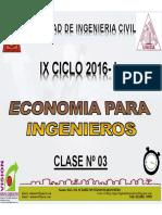 Clase 03 Economia Para Ing 2016 i
