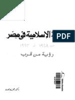الحركة الإسلامية في مصر - محمد مورو