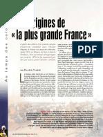 Colonnies, Aux Origines de La Plus Grande France