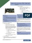RM-SC Synchronous PCI Serial Card