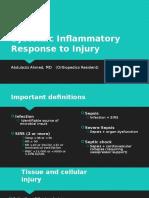 Systemic Response to Injury