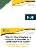 SEGURIDAD ALIMENTARIA EN UNA REGION COLOMBIANA