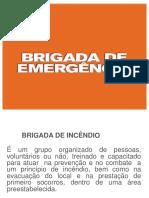 Treinamento Brigada de emergencia