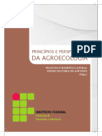 Princípios e Perspectivas Da Agroecologia - Francisco Roberto Caporal, Edisio Oliveira de Azevedo (Orgs) - Instituto Federal Paraná Educação à Distância, 2011