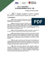 RN - 106 - Modifica RN 1.2011 - Domicilio Fiscal Electrónico y Eliminación de Trámite Presencial en Ingresos Brutos