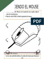 Ficha Conociendo El Mouse Inicial 3 Años