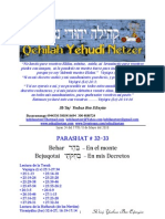 Parashat Behar -Bejuqotai # 32-33 Adul 5770