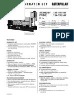 Diesel Generator Set - Lehe5521-01