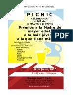 Picnic Flier2010