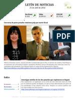 Boletín de noticias KLR 21ABR2016