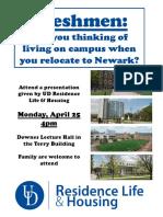 Residence Life & Housing - Dover