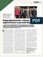 Budget départemental