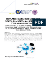 Borang Data Inisiatif ICT Sekolah 2016