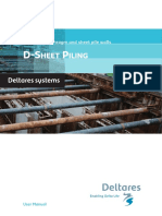 DSheet Piling Manual
