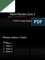 Sound - Review Quiz 2