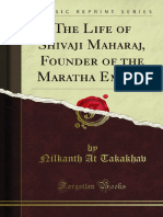The Life of Shivaji Maharaj Founder of the Maratha Empire 1000694573