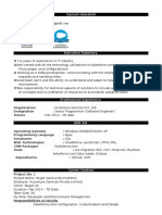 salesforce resume
