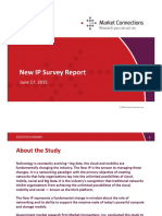 New IP Survey Report