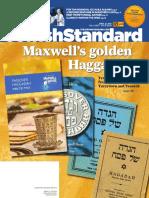 Jewish Standard, April 22,2016