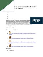 Cómo Hacer Un Acondicionador de Aceite de Coco Para El Cabello