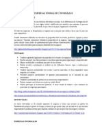 Empresas Formales e Informales