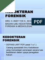 Kedokteran Forensik, 30 Juni 2009