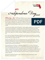 Florida TaxWatch Taxpayer Independence Day