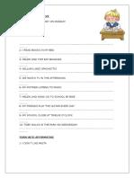 Present Simple Worksheet Affirmative and Negative