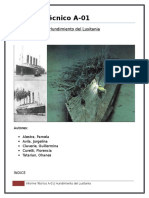 Informe del hundimiento del Lusitania