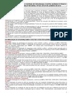 Lista de Verificao do Sistema de Segurana Contra Incndio e Panico