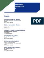 Rede Credenciada - Moçambique - Jan-2014