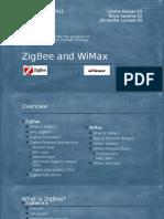 ZigBee and WiMax