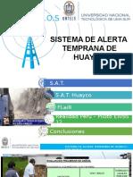 Sistema de Alerta Temprano de Huayco (Ejemplo de plantilla ptt TELECOMUNICACIONES