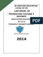 Cultura y Deporte de La Ie 171-4 Ccs