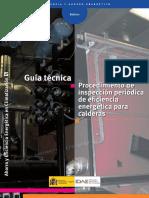 10540 Procedimientos Inspeccion Calderas A2007