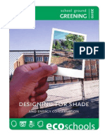 Designing for Shade and Energy Conservation