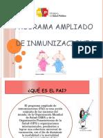 Programa Ampliado Inmunizacionex