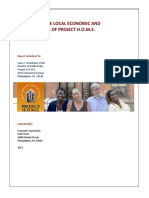 The Economic and Fiscal Impact of Project HOME