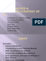 SWOT Analysis & Marketing Strategy of ITL