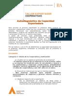 Autodiagnóstico Taller Exportador Cooperativas