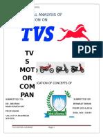 Tvs Cm Project