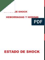 Estado de Shock, Hemorragias y Heridas