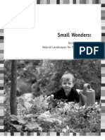 Small Wonders - Designing Vibrant, Natural Landscapes for Early