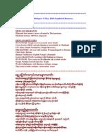 06May10 News on Migrants & Refugees- 6 May, 2010 (English & Burmese)