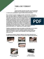 FIBRA DE VIDRIO