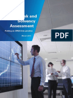 Insurance Own Risk and Solvency Assessment