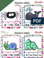 ABECEDARIO Silábico de Animales PDF
